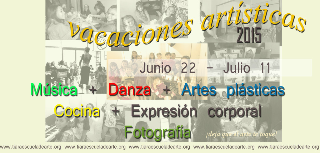 vacaciones artisticas2015